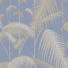 Straw/Blue Botanical Wallcovering by Cole & Son Wallpaper