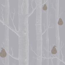 Slate/Silver Botanical Wallcovering by Cole & Son Wallpaper