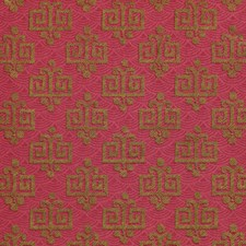Red Wallcovering by Clarence House Wallpaper