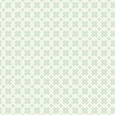 Light Blue/White Geometrics Wallcovering by York