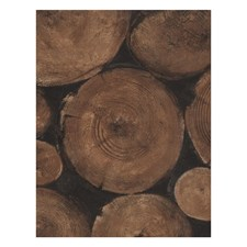 Timber Novelty Wallcovering by Andrew Martin Wallpaper