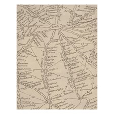Parchment Novelty Wallcovering by Andrew Martin Wallpaper