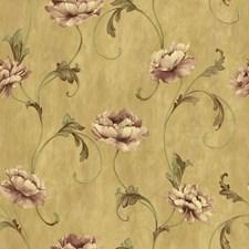 Mustard Wallcovering by Brewster
