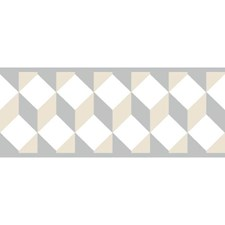 Beige/Gray Bohemian Wallcovering by York