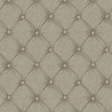 Gold Satin/Pewter Dots Wallcovering by York
