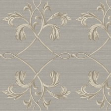 Light Grey Wallcovering by Brewster