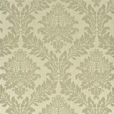 Baker Grey Damask Wallcovering by G P & J Baker