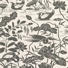 Black/White Animal Wallcovering by G P & J Baker
