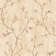 Brown Traditional Wallpaper Wallcovering by Brewster