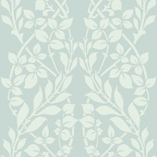 Blue/White Botanical Wallcovering by York
