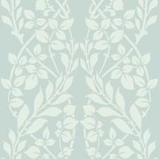 Blue/White Botanical Wallcovering by York
