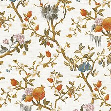 Magnolia Wallcovering by Scalamandre Wallpaper