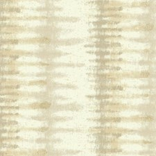 Cream/Warm Taupe/Gold Stripes Wallcovering by York