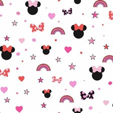 DI0992 Disney Minnie Mouse Rainbow by York