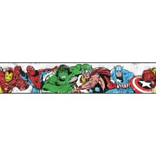 DY0238BD Marvel Avengers Wallpaper Border by York