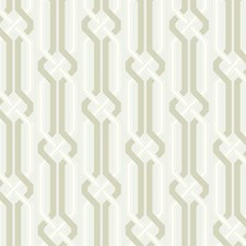 Silver Pearl/Light Taupe/White Geometric Wallcovering by York