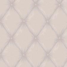 Metallic Lilac/Lavender/Purple Trellis Wallcovering by York