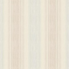 Cream/Beige/Tan Stripes Wallcovering by York