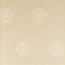 Silver Botanical Wallcovering by Threads