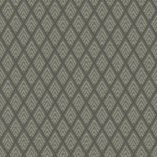 Dark/Medium and Light Grey Geometrics Wallcovering by York
