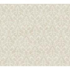 Metallic Platinum/Winter White Wall Decor Wallcovering by York