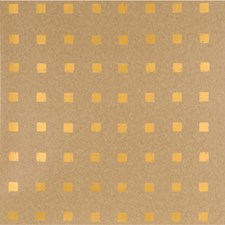 Kraft/Gold Contemporary Wallcovering by Groundworks