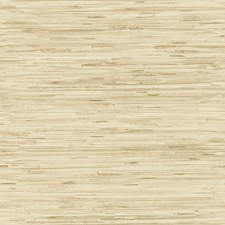 Wheat Gold/Cream/Leather Brown Faux Grasscloth Wallcovering by York