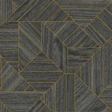 HO3372 Wood Geometric by York