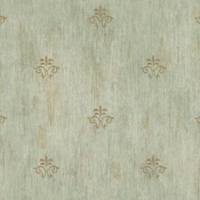 Platinum/Grey/Aqua Textures Wallcovering by York