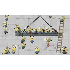 JL1329M Minions At Work XL Mural by York