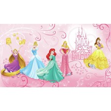JL1388M Disney Princess Enchanted Pre-pasted Mural by York