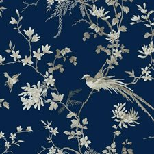 KT2171 Bird And Blossom Chinoserie by York