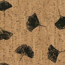 Browns/Blacks Floral Wallcovering by York