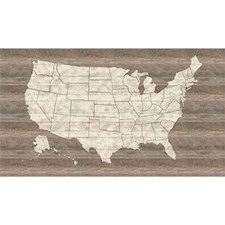 LG1406M United States Map Mural by York
