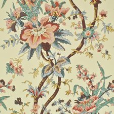 Virginia Rose Wallcovering by Ralph Lauren Wallpaper