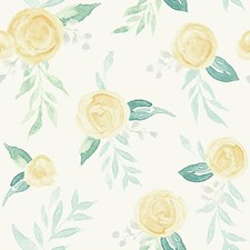 MK1127 Watercolor Roses by York