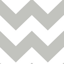 NU1692 Ziggy Chevron Grey Peel & Stick by Brewster