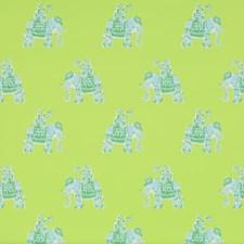 Lush Green Print Wallcovering by Lee Jofa Wallpaper