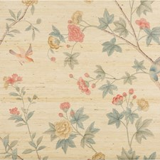 Petal/Jade Print Wallcovering by Lee Jofa Wallpaper