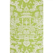 Green Asian Wallcovering by Brunschwig & Fils