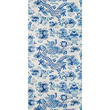 Ivory Asian Wallcovering by Brunschwig & Fils