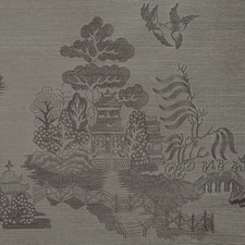 Iron Chinoiserie Wallcovering by Brunschwig & Fils