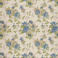 Cornflower/Lime Print Wallcovering by Lee Jofa Wallpaper