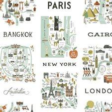 PSW1195RL City Maps by York