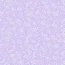 Light Purple Bugs Wallcovering by York