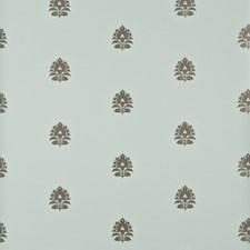 Aqua Botanical Wallcovering by Baker Lifestyle Wallpaper
