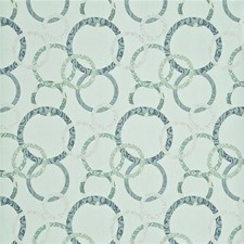 Aqua/Teal/Silver Wallcovering by Baker Lifestyle Wallpaper