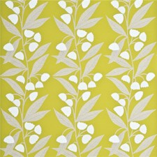 Lime/Ivory Wallcovering by Baker Lifestyle Wallpaper