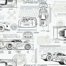 RMK11804WP Disney and Pixar Cars Schematic by York