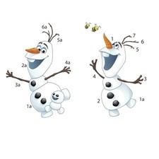 RMK3019SCS Disney Frozen Olaf by York